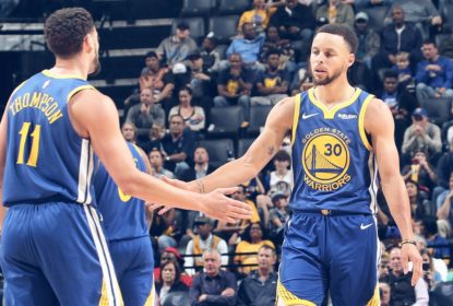 Stephen Curry e Klay Thompson participam de protestos em Oakland - The Playoffs