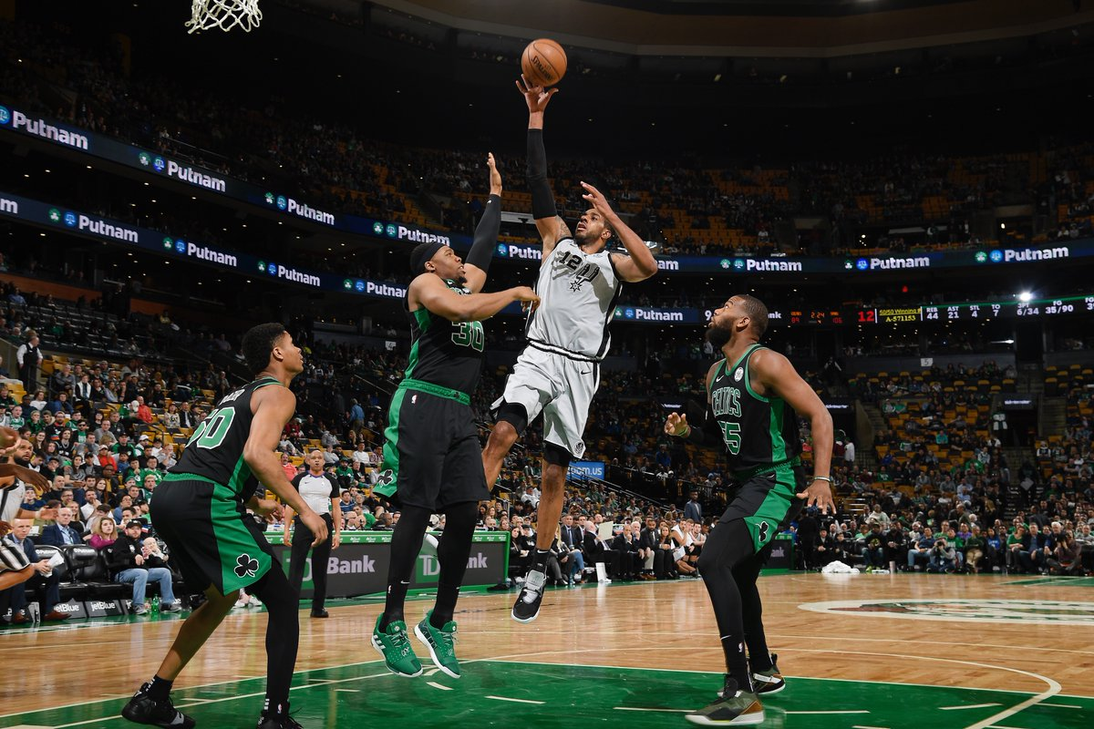 LaMarcus Aldridge brilha e San Antonio Spurs vence Boston Celtics - The Playoffs