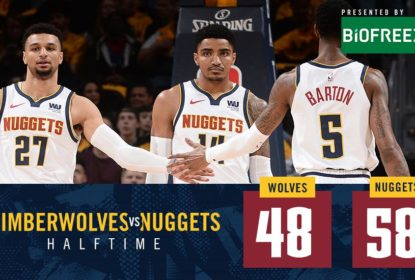 Denver Nuggets vence o Minnesota Timberwolves com tranquilidade - The Playoffs