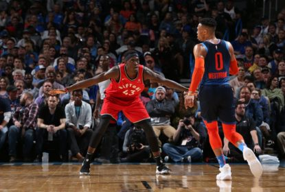 Oklahoma City Thunder vence revanche contra o Toronto Raptors - The Playoffs