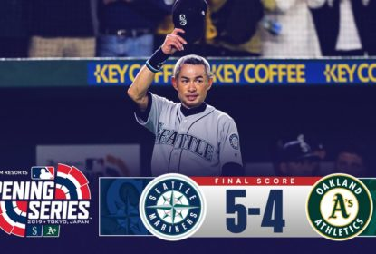 Em emocionante despedida de Ichiro Suzuki, Seattle Mariners vence Oakland Athletics - The Playoffs