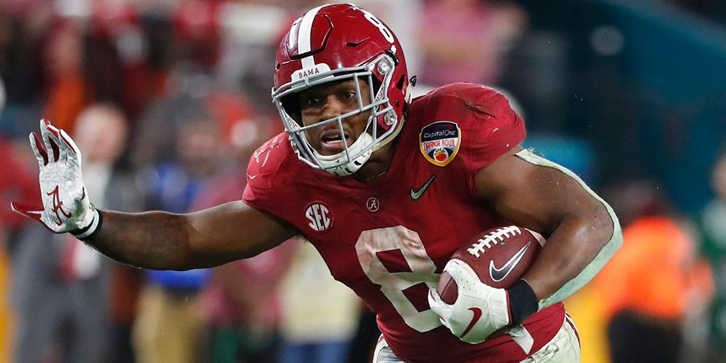 2019 NFL Draft: running back de Alabama Crimson Tide Josh Jacobs