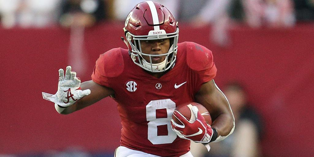 Running back de Alabama Crimson Tide Josh Jacobs