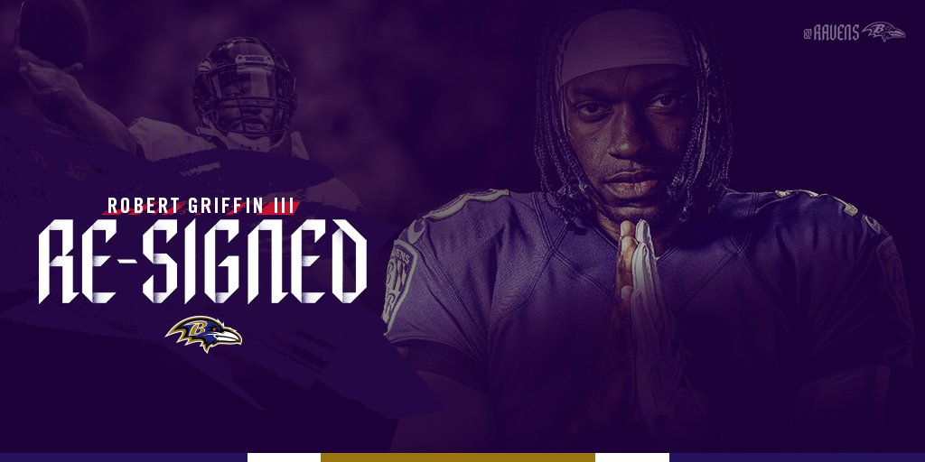 Robert Griffin III assina por mais 2 anos com os Ravens - The Playoffs