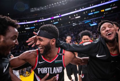Blazers vencem Lakers no estouro do cronômetro e garantem mando de quadra nos playoffs - The Playoffs