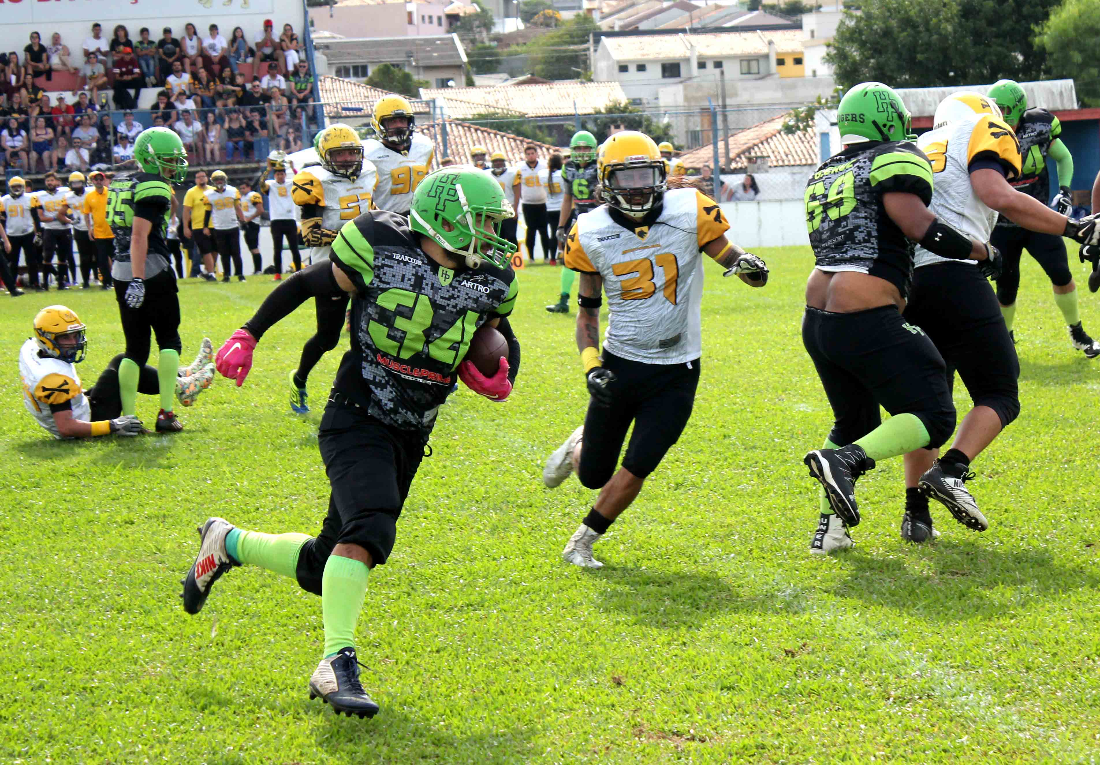 HP Tigers vence Moon Howlers
