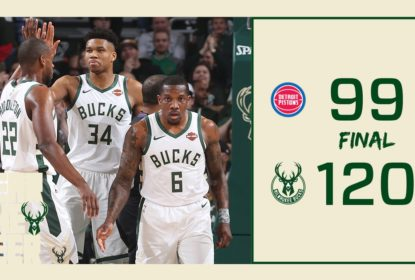Milwaukee Bucks vence Detroit Pistons e abre 2 a 0 na série - The Playoffs