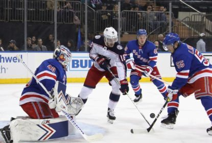 Blue Jackets vencem Rangers no shootout e garantem vaga nos playoffs