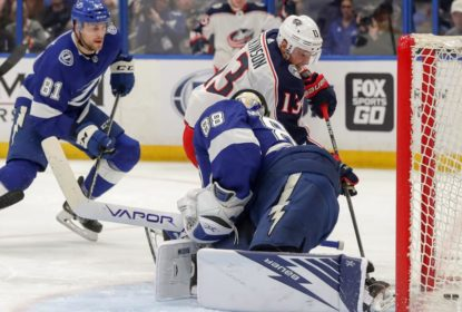 Blue Jackets goleiam Lightning e abrem 2 a 0 na série - The Playoffs