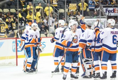 Islanders varrem Penguins e garantem classificação à 2ª rodada no Leste - The Playoffs