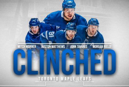 Maple Leafs vencem Islanders fora de casa e garantem vaga para os playoffs - The Playoffs