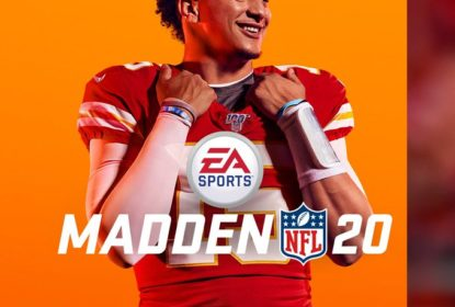 Patrick Mahomes é escolhido para ser a capa do Madden 20 - The Playoffs