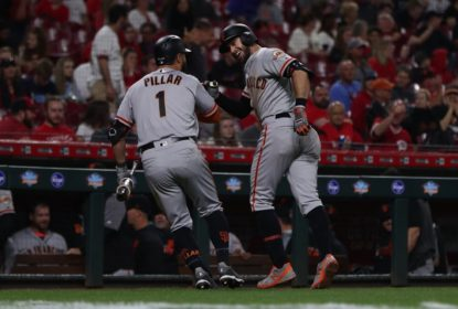 San Francisco Giants vence Cincinnati Reds por 12 a 11