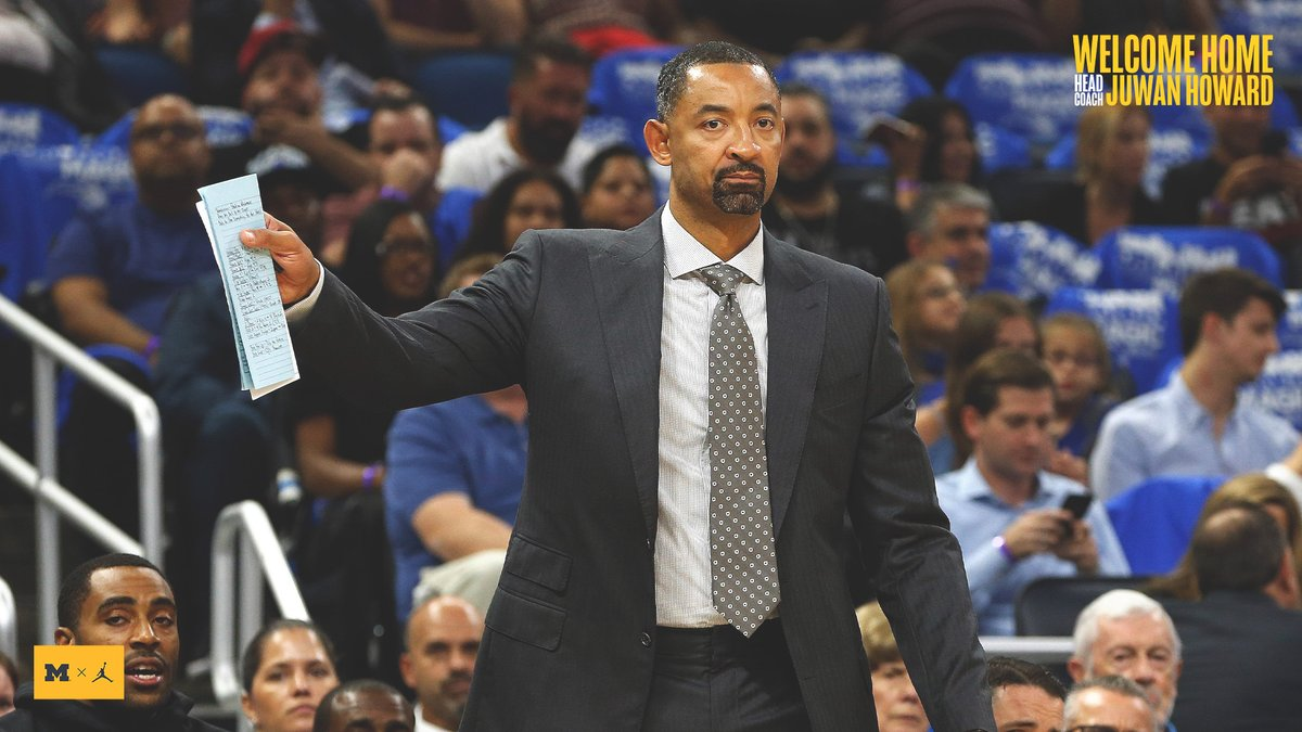 Michigan Wolverines anuncia Juwan Howard como novo head coach - The Playoffs