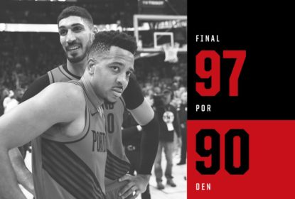 Portland Trail Blazers quebra mando e empata série contra Denver Nuggets - The Playoffs