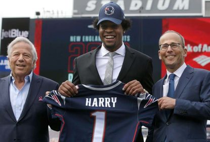 Patriots ativam wide receiver N'Keal Harry para jogo contra os Ravens - The Playoffs