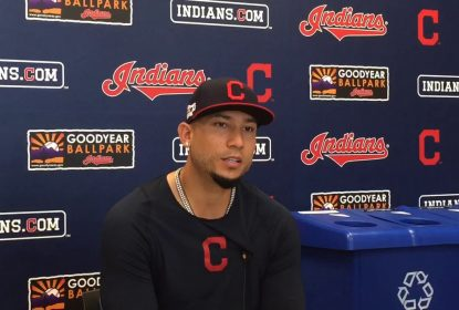 Indians colocam veterano Carlos Gonzalez na lista de dispensa - The Playoffs