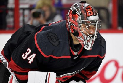 Petr Mrazek, goleiro do Carolina Hurricanes, passa por cirurgia no polegar - The Playoffs