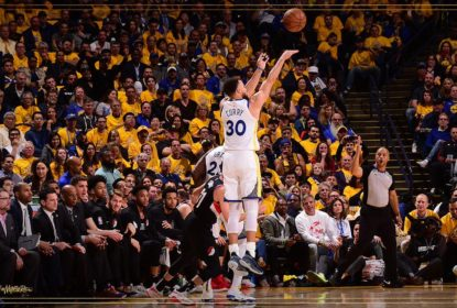Curry brilha nas bolas de três e Warriors abrem 1 a 0 contra os Blazers