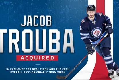 Winnipeg Jets envia Jacob Trouba ao New York Rangers - The Playoffs