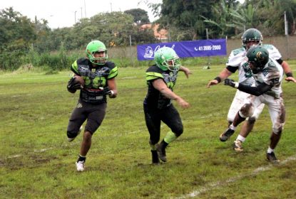 HP vence Crocodiles e está na final do Campeonato Paranaense de Futebol Americano - The Playoffs