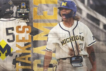 Michigan vence jogo 1 contra Vanderbilt e abre vantagem na final da CWS - The Playoffs