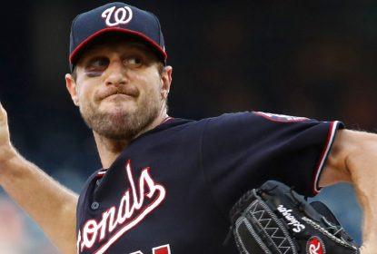 De nariz quebrado, Scherzer lidera vitória dos Nationals contra Phillies - The Playoffs