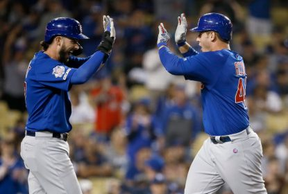 Cubs vencem Dodgers de virada com HR de Anthony Rizzo - The Playoffs