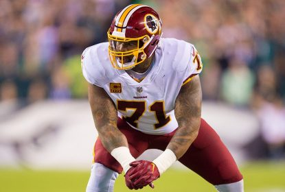 Left tackle do Washington Redskins Trent Williams