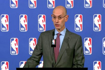 """Estou otimista"", diz Adam Silver sobre temporada 2021-22 ser 'normal' - The Playoffs"