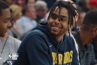 D'Angelo Russell está empolgado com a chance de jogar nos Warriors - The Playoffs
