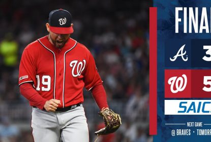 Nationals vencem Braves por 5 a 3 fora de casa - The Playoffs