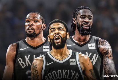 Nets 'cutucam' Knicks e anunciam distribuição da camisa de Irving para data sugestiva - The Playoffs