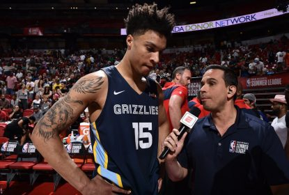Brandon Clarke, do Memphis Grizzlies, é eleito MVP da Summer League 2019 - The Playoffs
