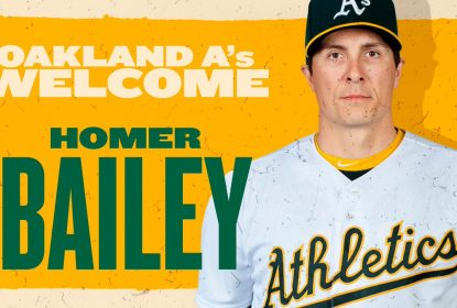 Royals trocam Homer Bailey para os Athletics - The Playoffs