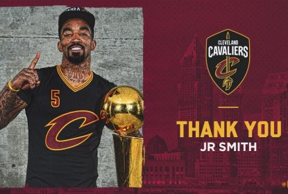 JR Smith é dispensado do Cleveland Cavaliers