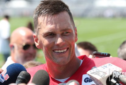 Quarterback do New England Patriots Tom Brady