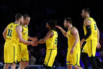 Australia surpreende e vence os Estados Unidos em amistoso preparatório - The Playoffs