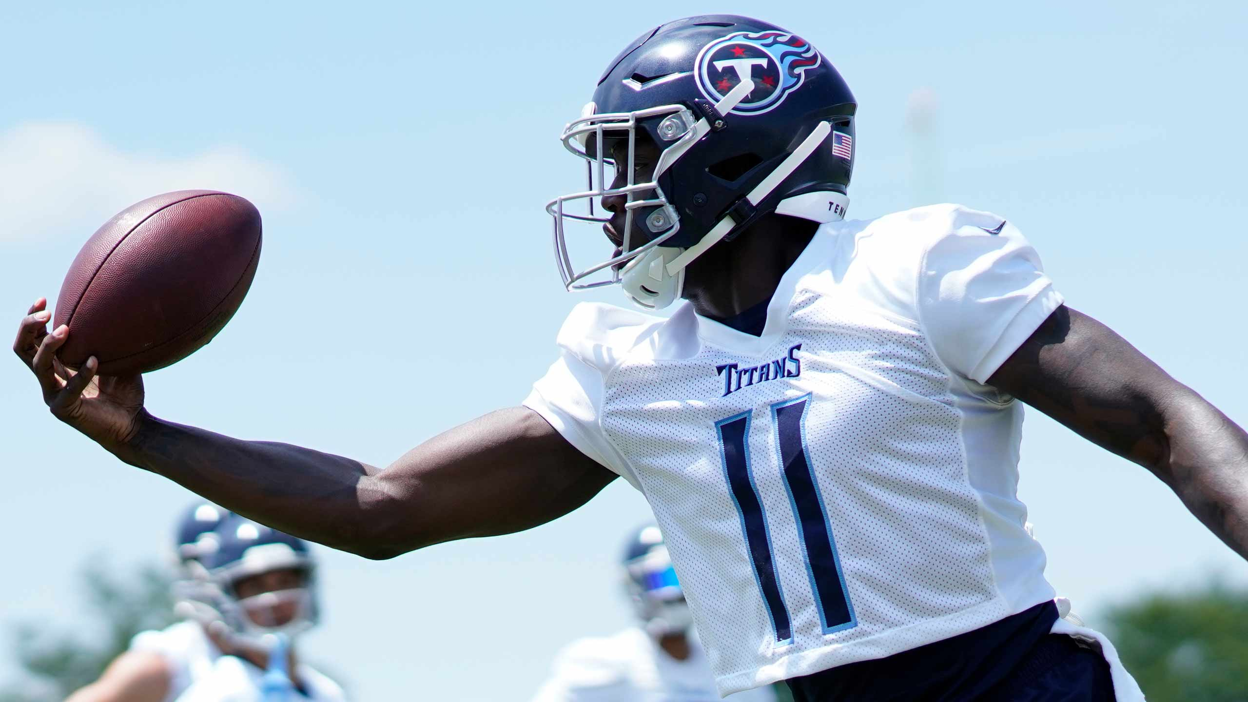 Wide receiver do Tennesee Titans A.J. Brown