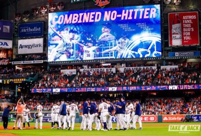 Houston Astros vence Seattle Mariners com no-hitter combinado - The Playoffs