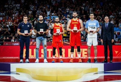 FIBA divulga o quinteto ideal da Copa do Mundo de Basquete - The Playoffs