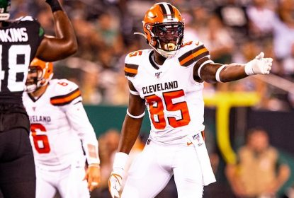 Browns colocam tight end David Njoku na injured reserve - The Playoffs