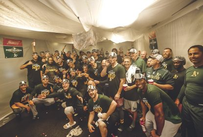 Oakland Athletics perde, mas garante vaga nos playoffs da MLB - The Playoffs