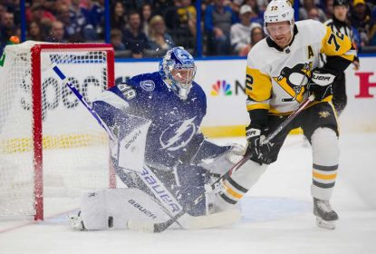 Com grande atuação de Vasilevskiy, Lightning vence Penguins - The Playoffs