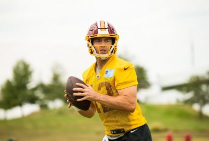 Colt McCoy será o quarterback do Washington Redskins no domingo - The Playoffs