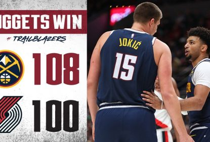 Nuggets vencem os Blazers na rodada de abertura da NBA - The Playoffs