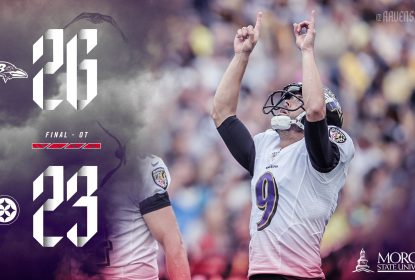 Ravens vencem Steelers por 26 a 23 na prorrogação - The Playoffs