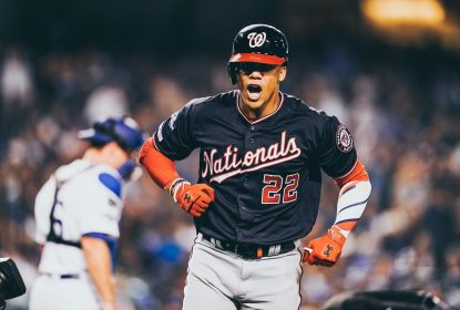 Juan Soto - Los Angeles Dodgers - Washington Nationals - MLB - Playoffs