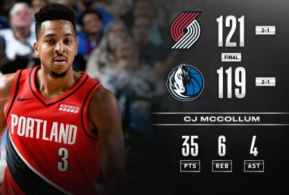 Blazers vencem Mavericks após pedido de desafio providencial de Stotts - The Playoffs