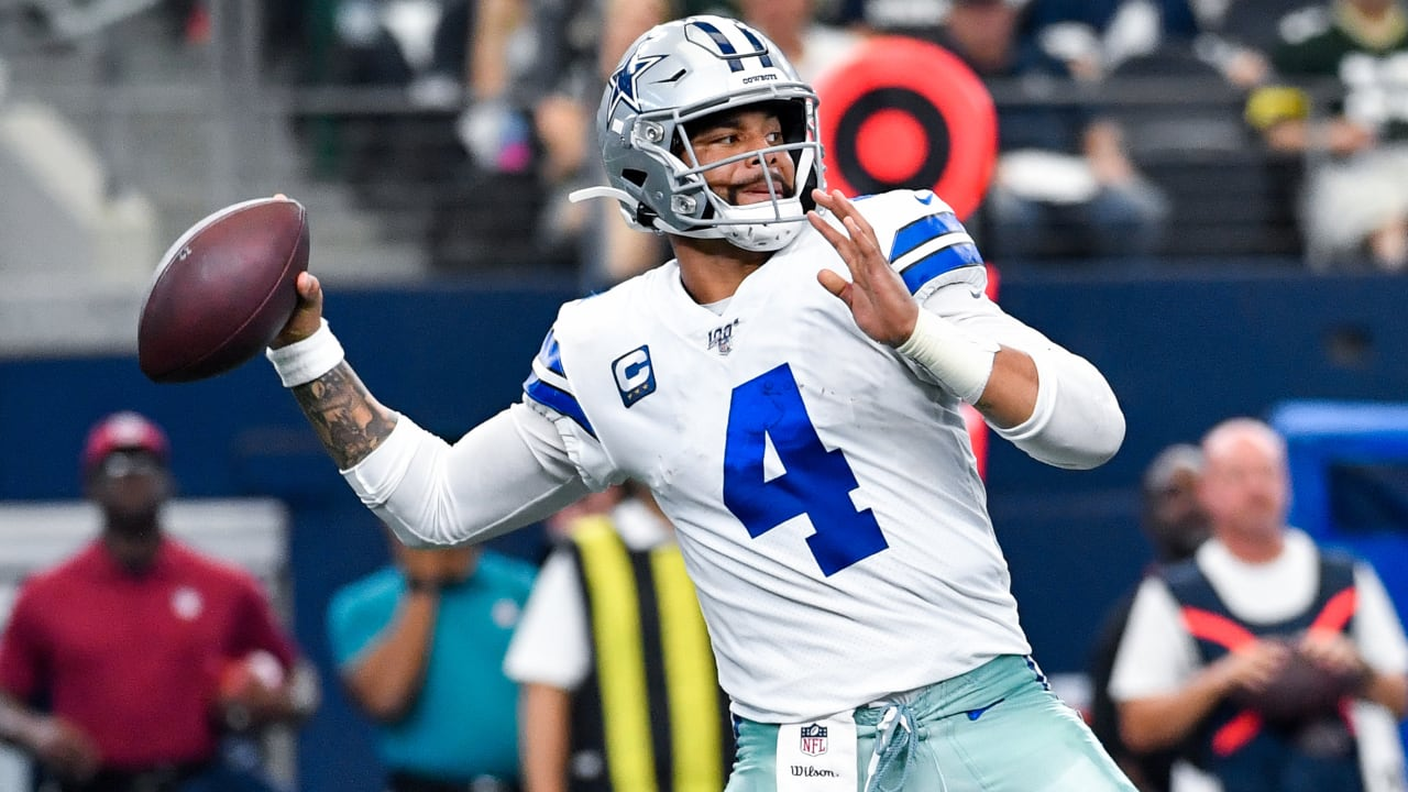 Quarterback do Dallas Cowboys Dak Prescott